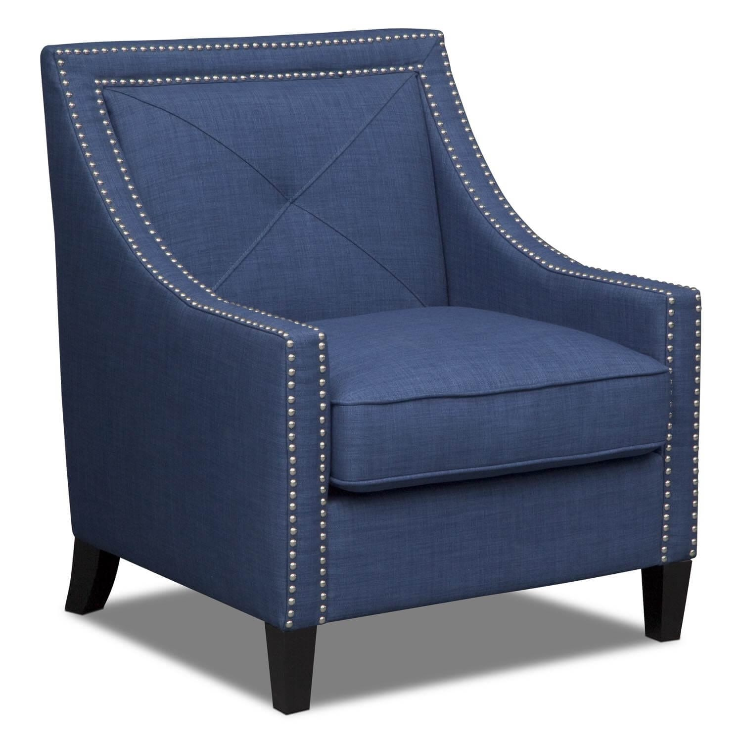 Cabaret Accent Chair - Blue