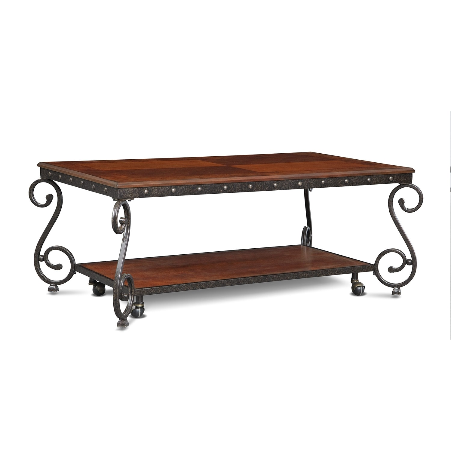Accent and Occasional Furniture - Calistoga Coffee Table - Cherry