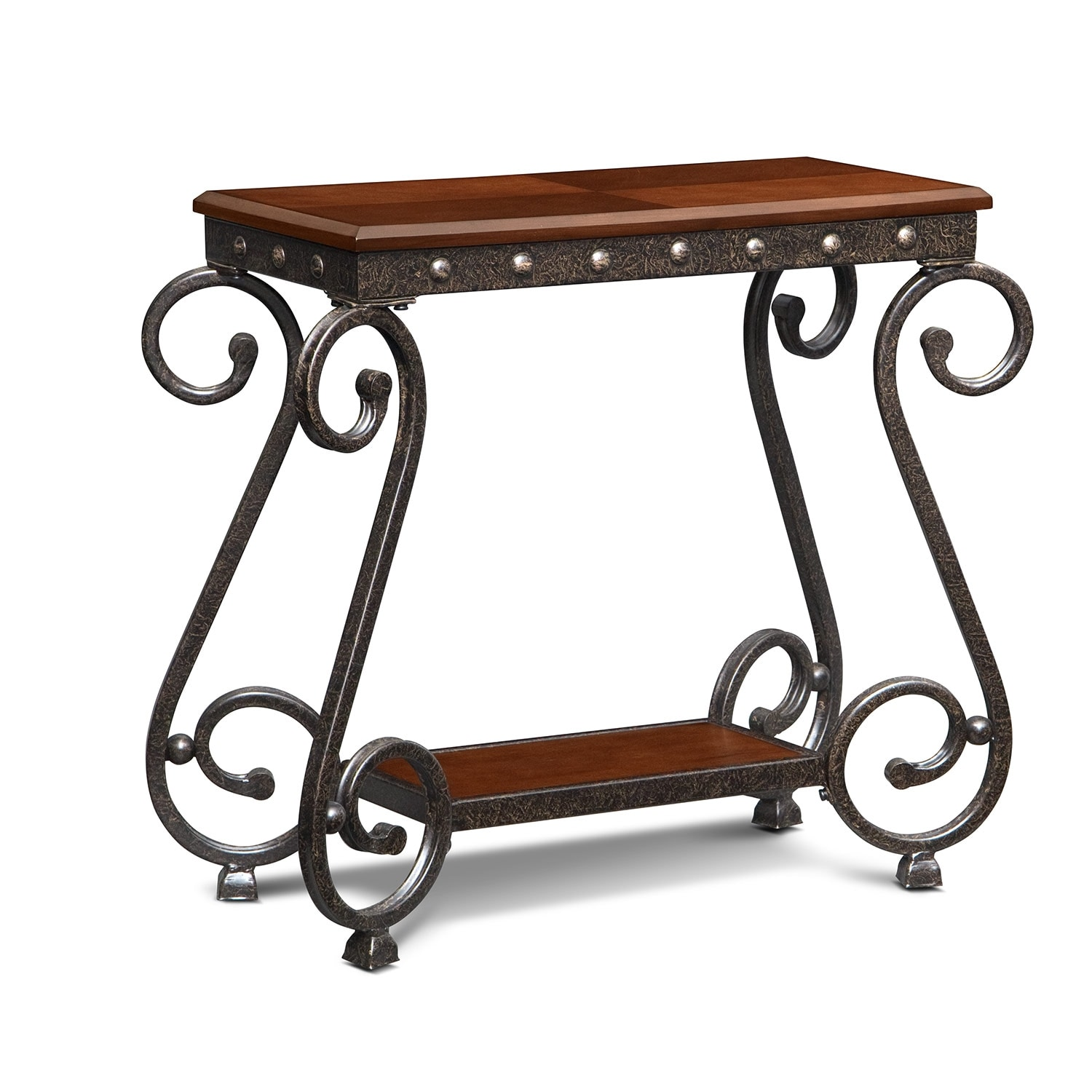 Accent and Occasional Furniture - Calistoga Chairside Table - Cherry
