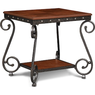 Calistoga End Table - Cherry