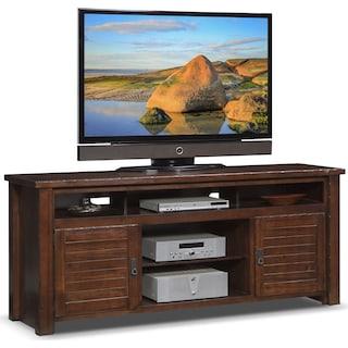 "Prairie 74"" TV Stand - Mesquite Pine"