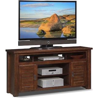 "Prairie 64"" TV Stand - Mesquite Pine"