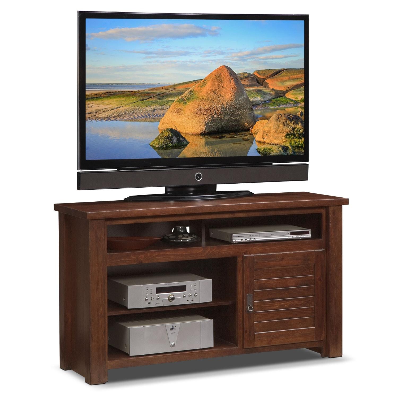 "Prairie 54"" TV Stand - Mesquite Pine"