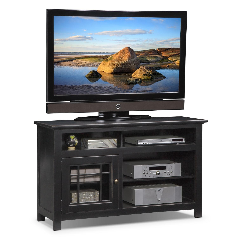 "Entertainment Furniture - Merrick 54"" TV Stand - Black"
