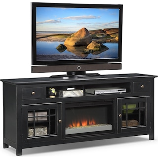 Merrick Fireplace TV Stand