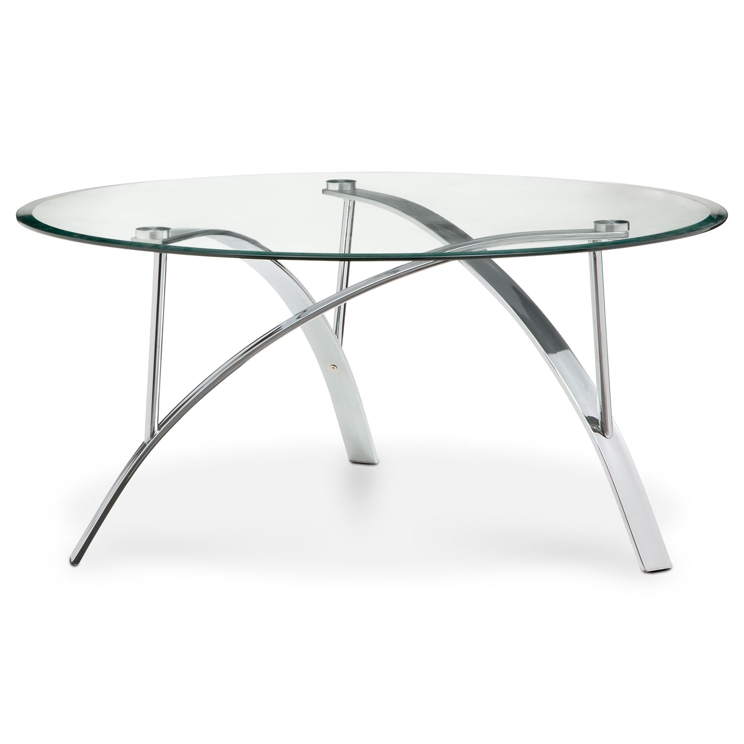 Mako Cocktail Table Silver