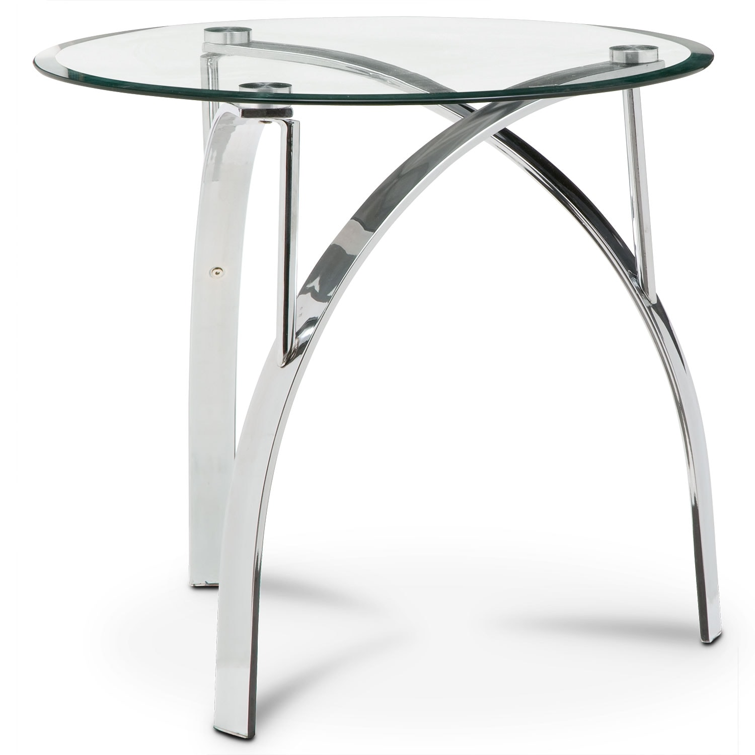 Accent And Occasional Furniture   Mako End Table   Silver