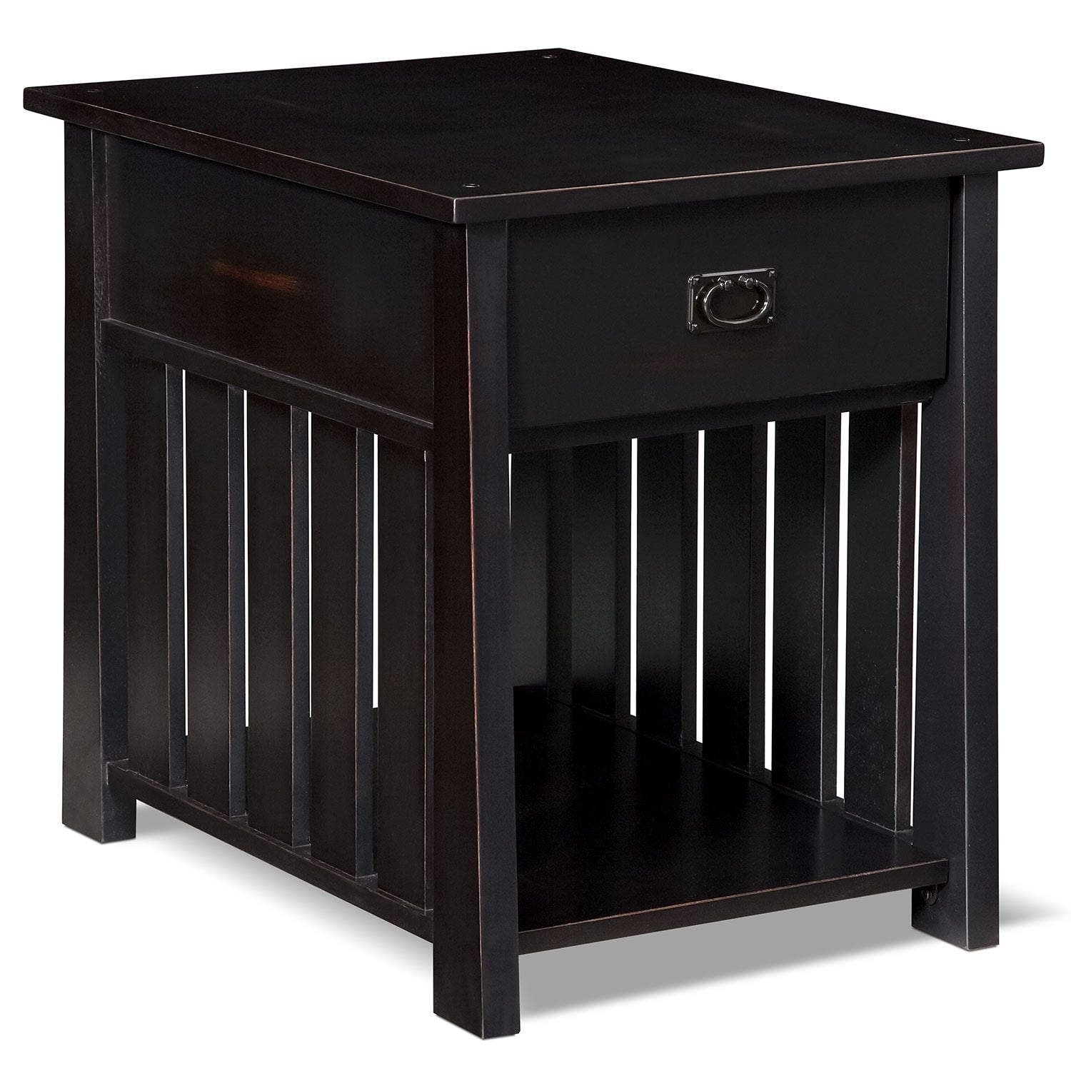Accent and Occasional Furniture - Tribute End Table - Black