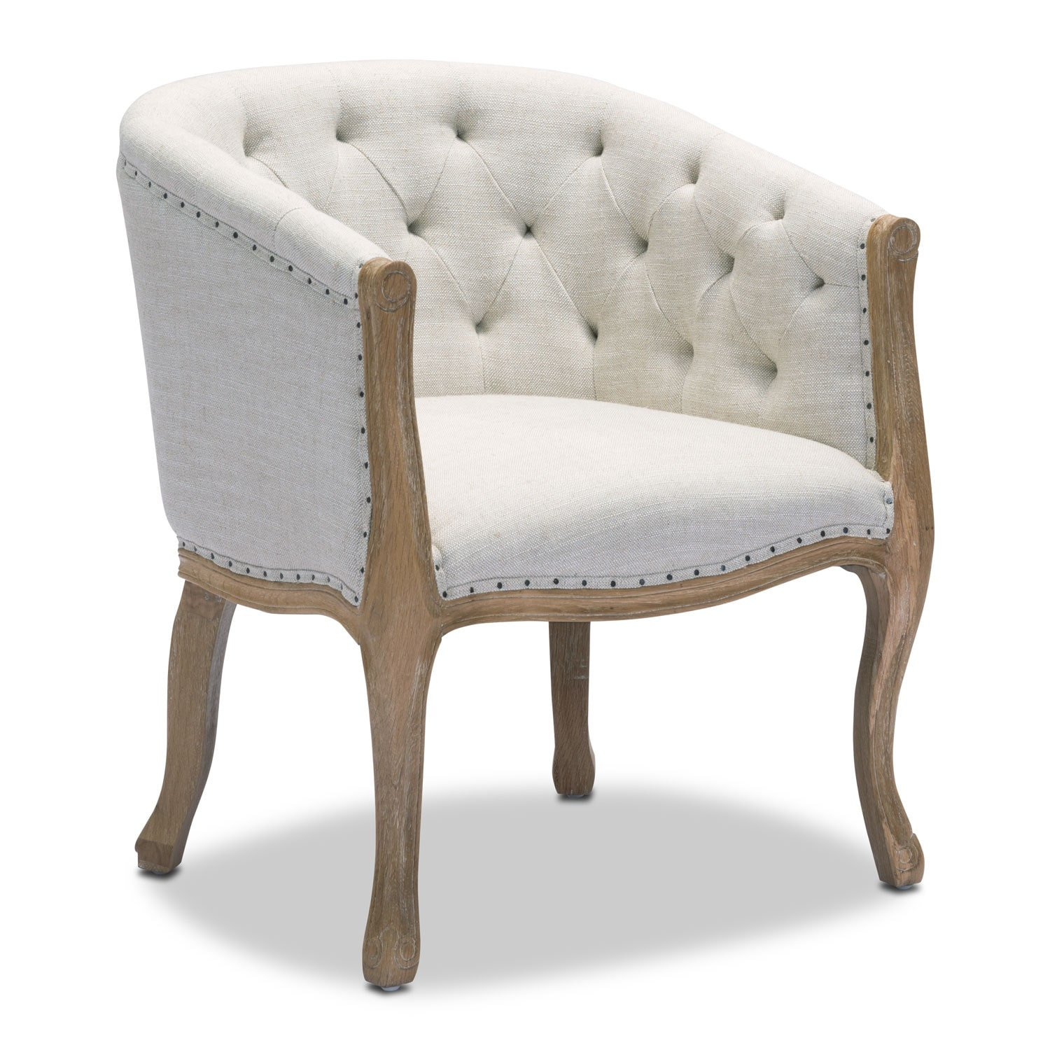 Tess Accent Chair - Beige