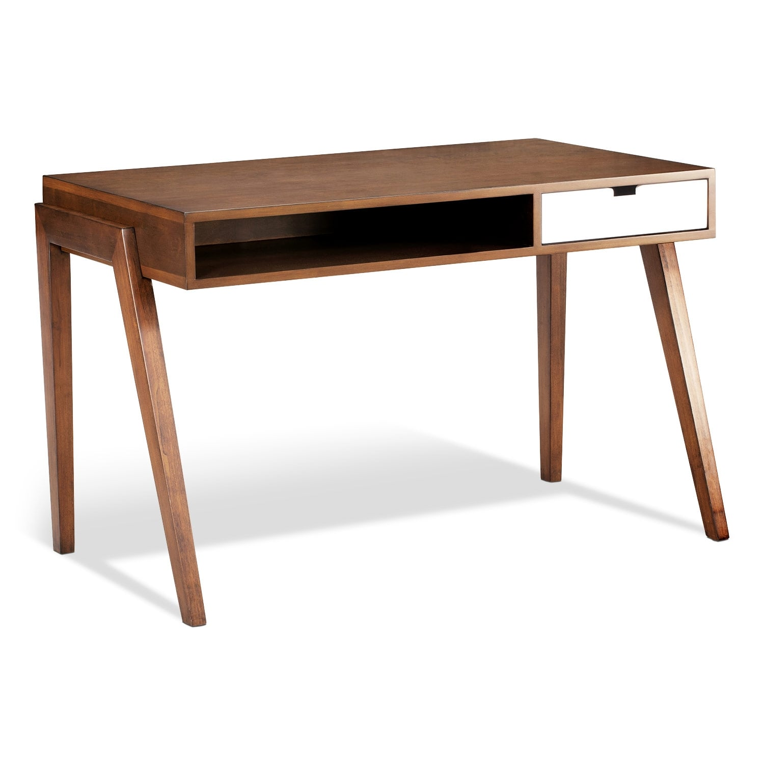 Home Office Furniture - Bradford Desk - Walnut