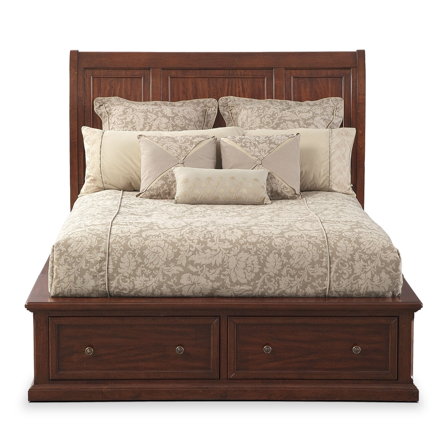 Hanover Storage Bed Value City Furniture And Mattresses