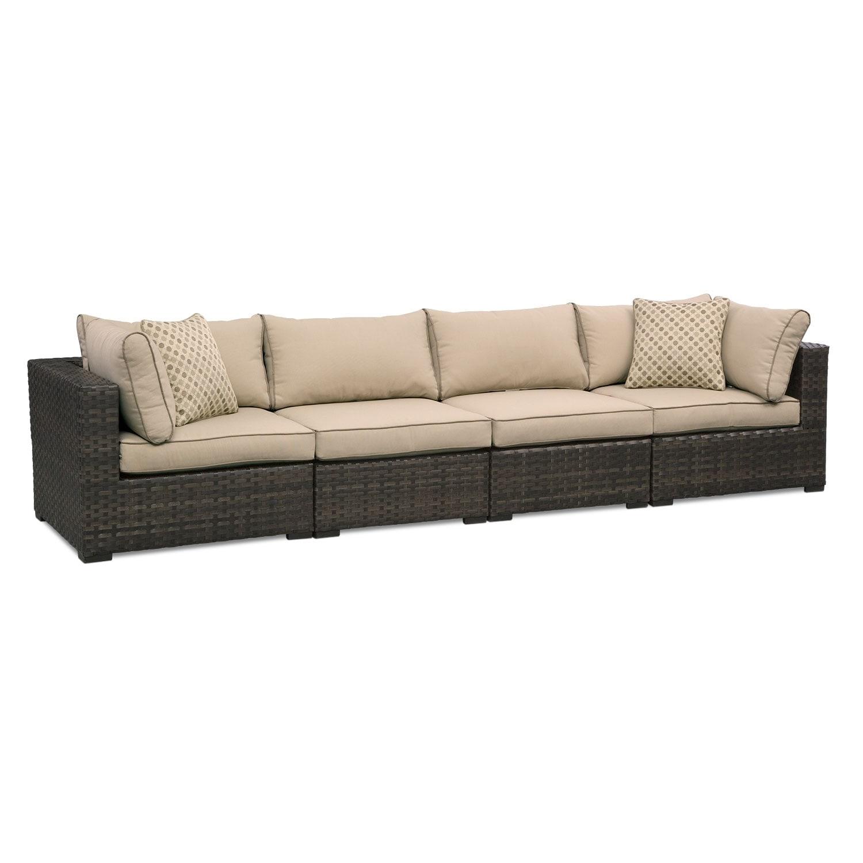 Regatta Outdoor Sofa - Brown