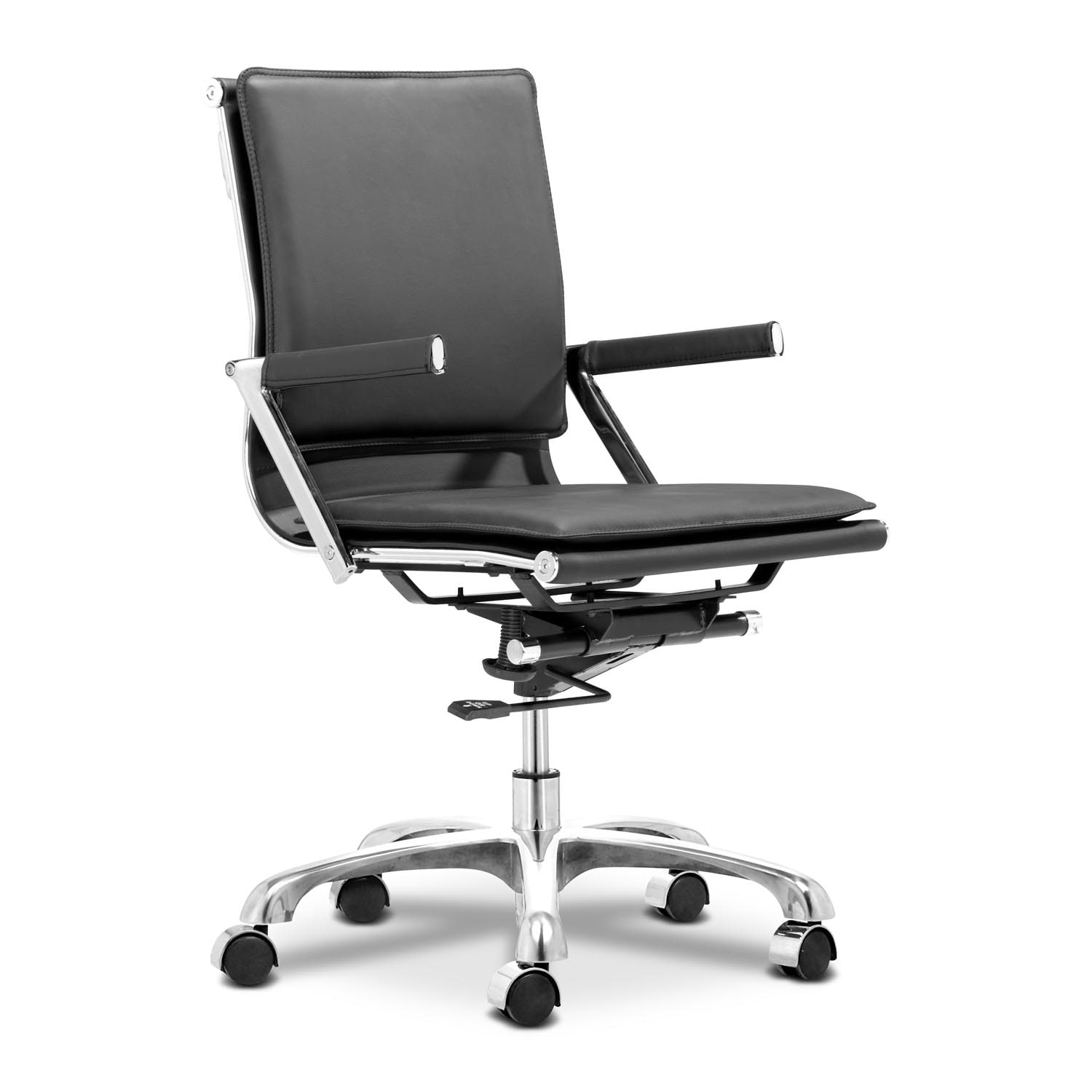 Nelson Office Arm Chair - Black