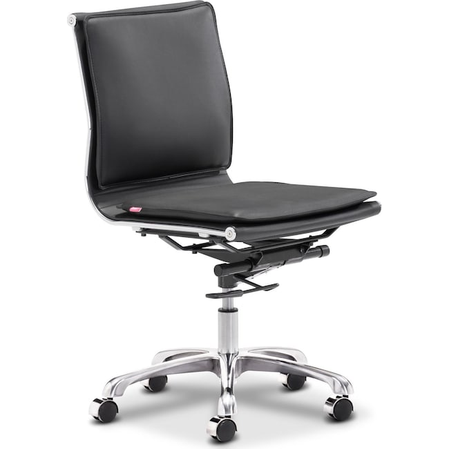 Home Office Furniture - Nelson Office Chair - Black