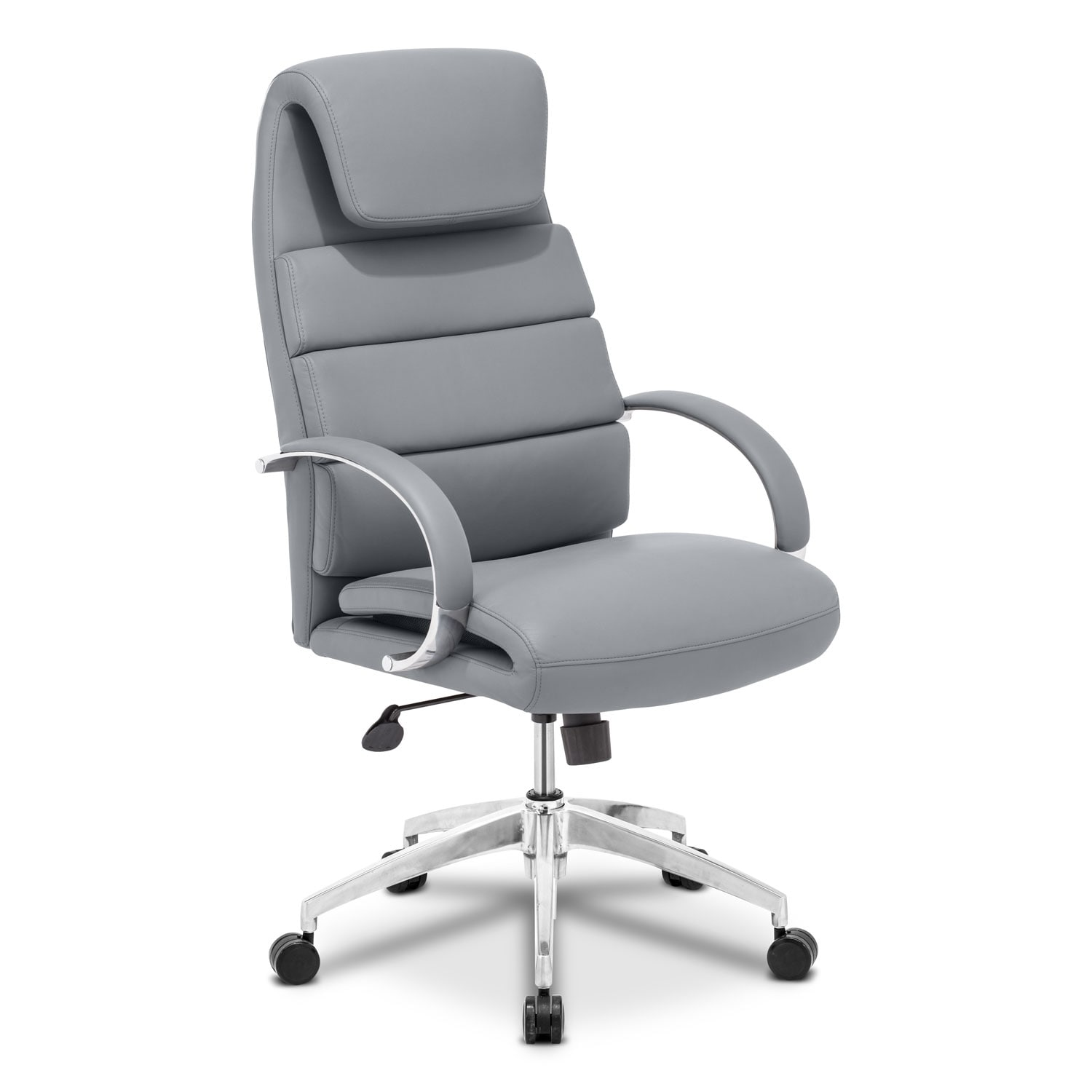 Clemens Office Arm Chair - Gray