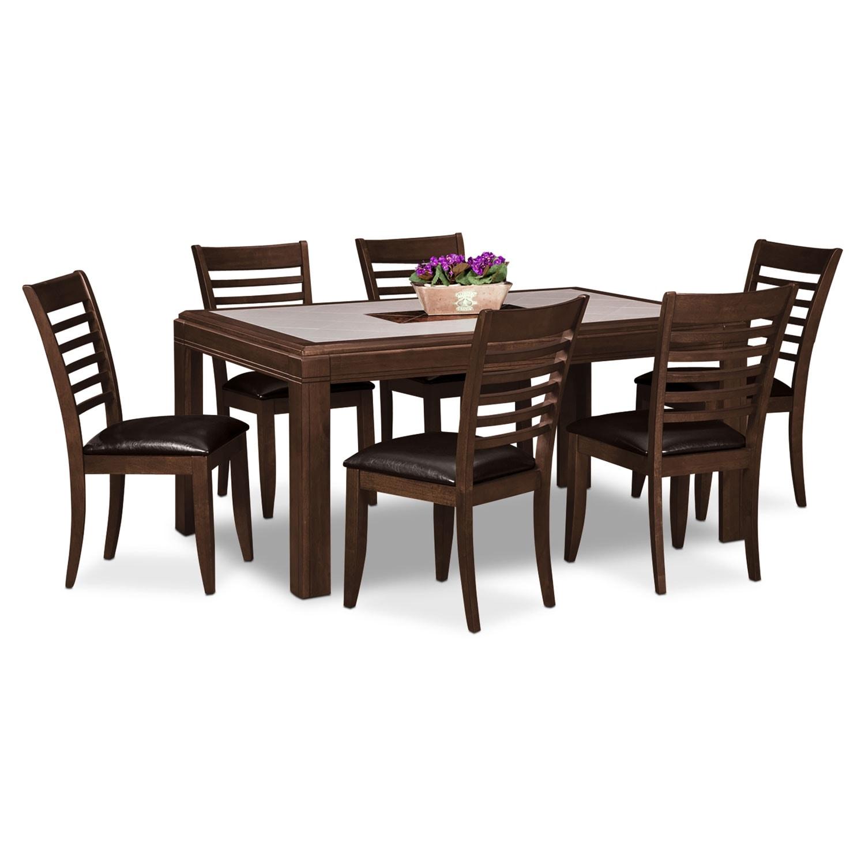 Dining Room Furniture - Deer Creek 7 Pc. Dinette