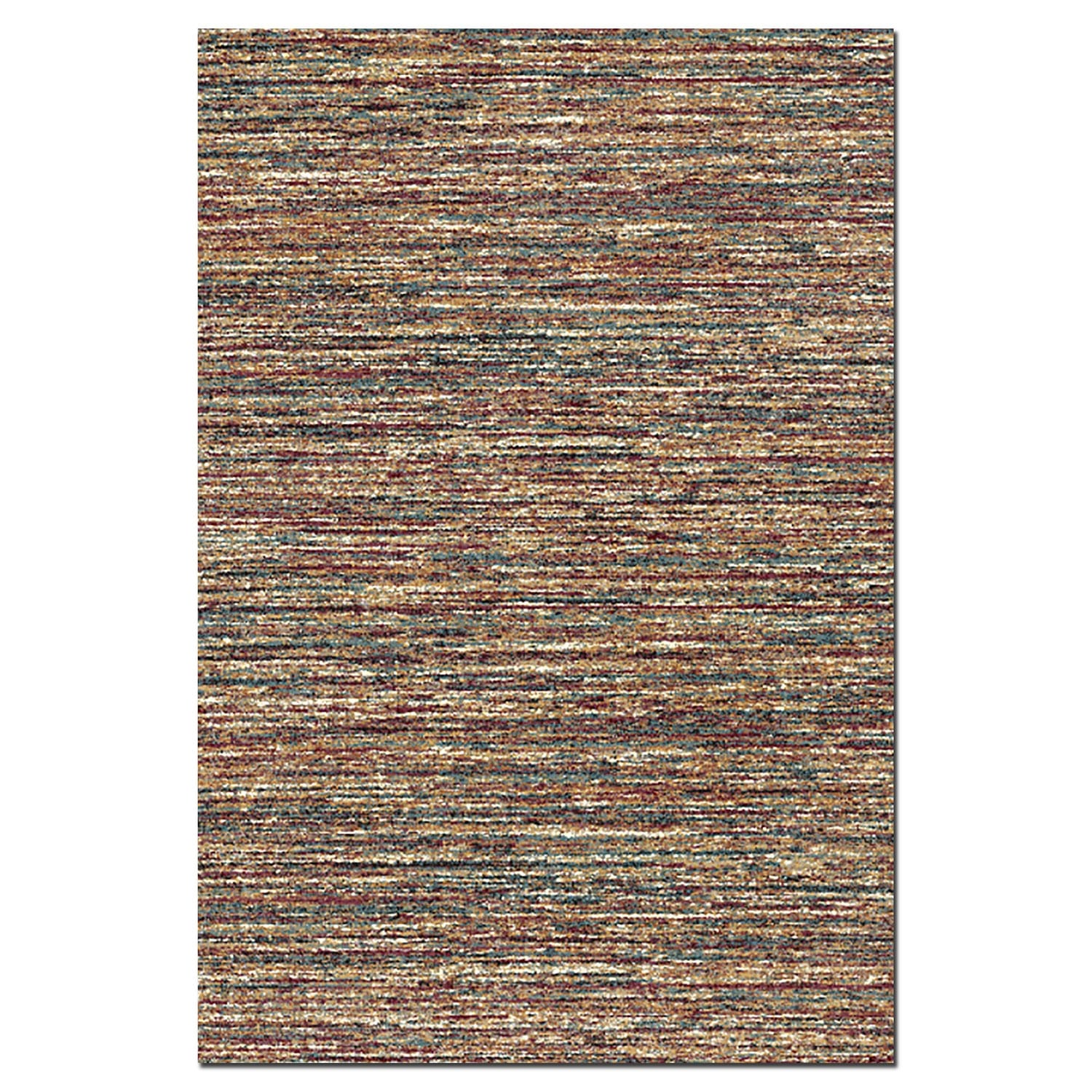 Rugs - Granada Red Area Rug (5' x 8')