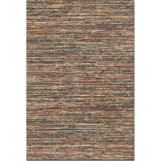Rugs - Granada 5' x 8' Area Rug - Red