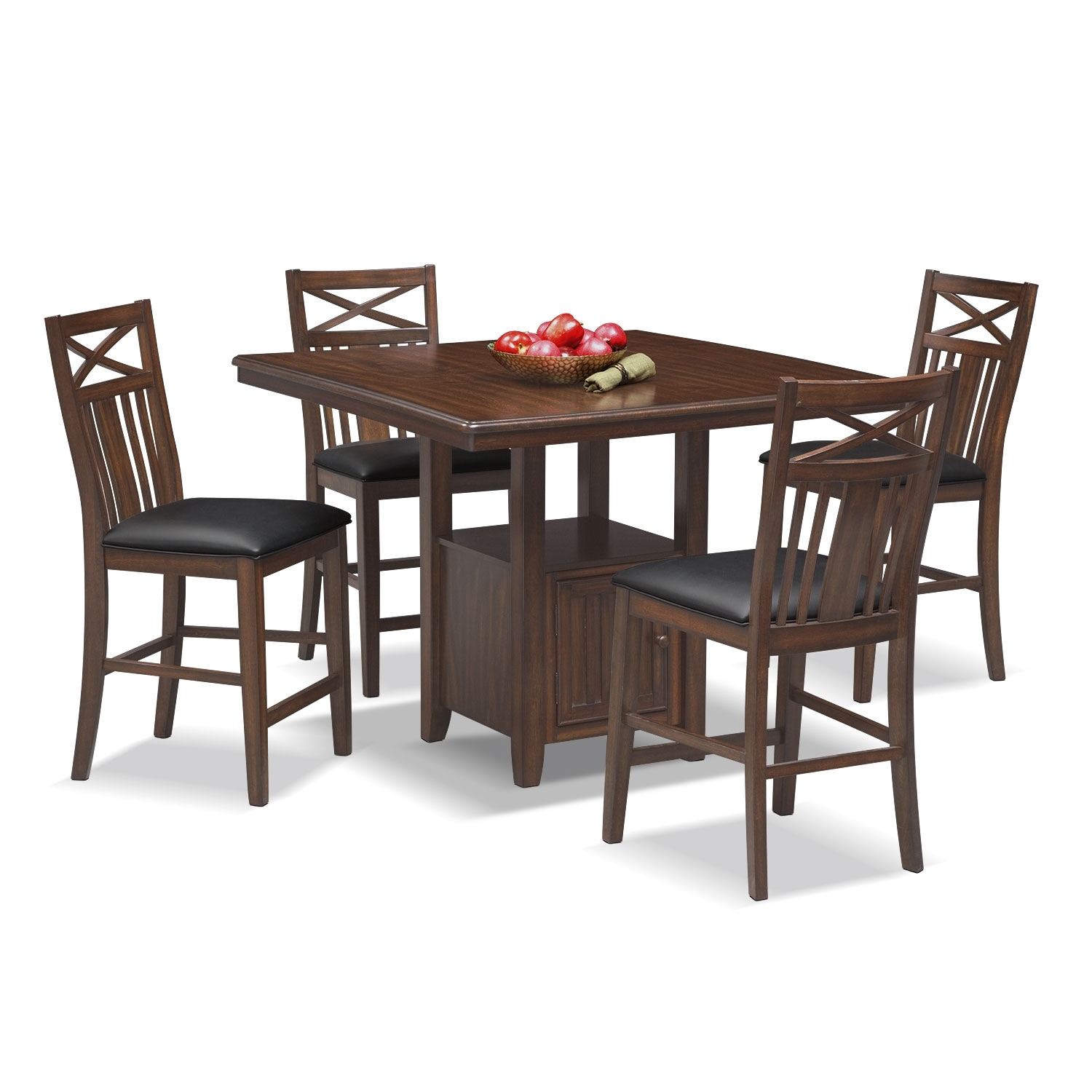 Natchez Trail 5 Pc. Counter-Height Dining Room