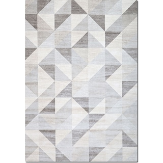Sonoma 5' x 8' Area Rug - Gray Triangles