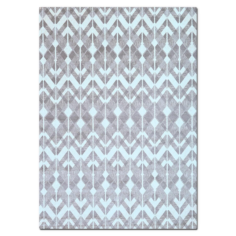 Sonoma Gray Diamonds Area Rug (8' x 10')