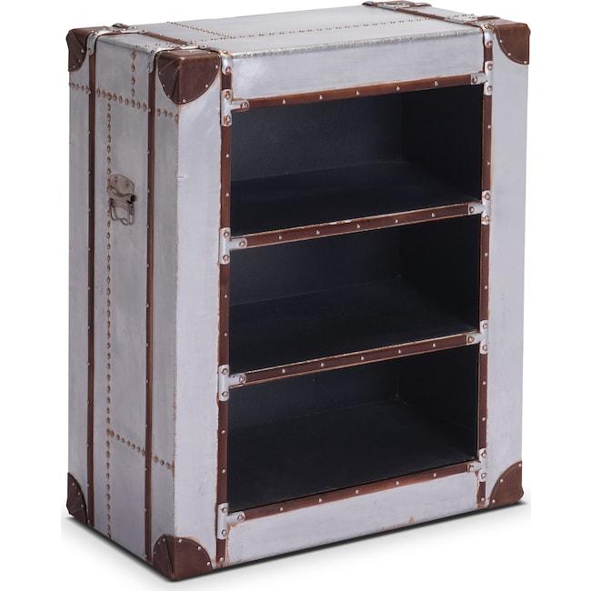 Accent and Occasional Furniture - Flight Bookshelf - Aluminum