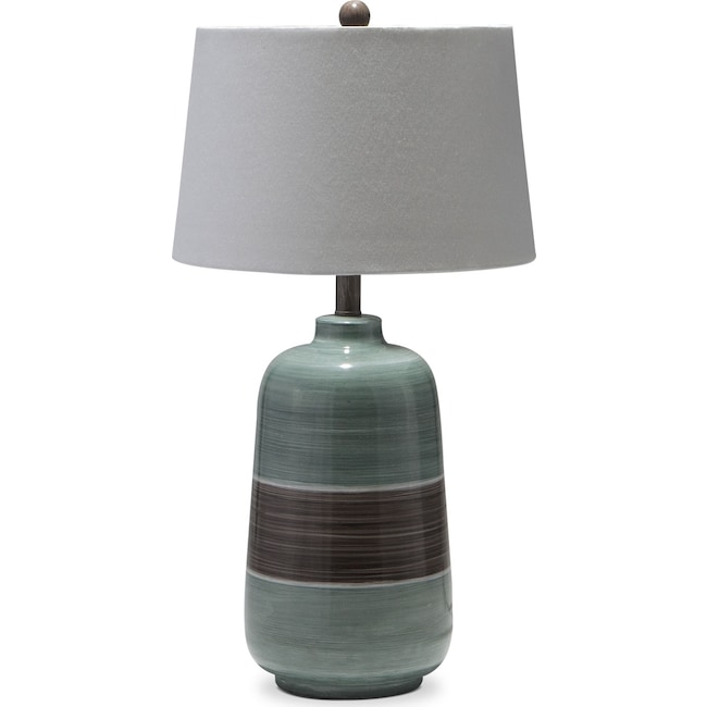 Home Accessories - Blue Brown Table Lamp