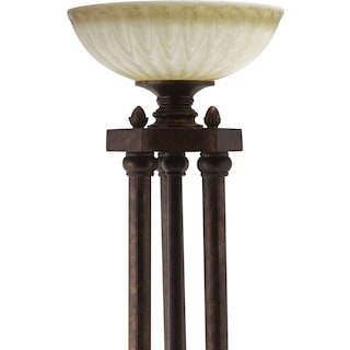 Regal Antique Floor Lamp