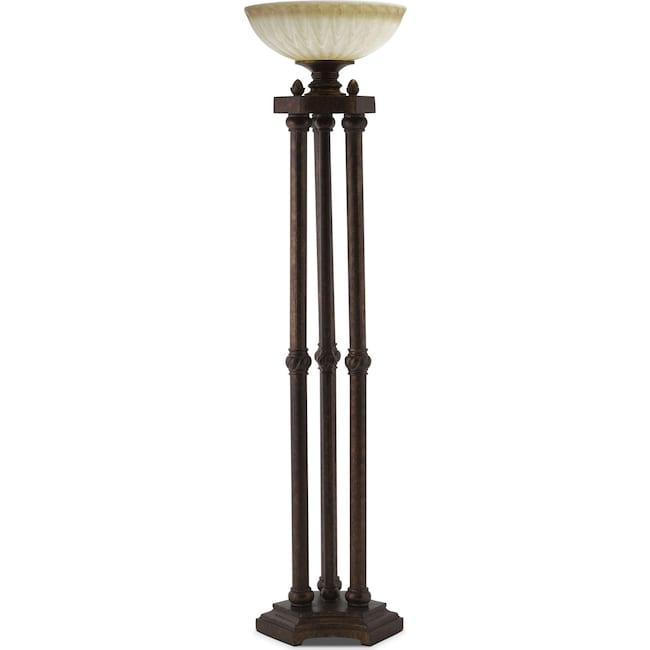 Home Accessories - Regal Antique Floor Lamp