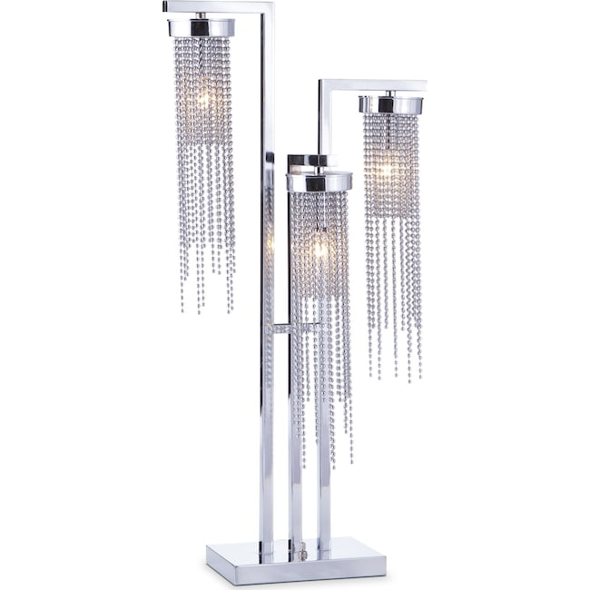 Home Accessories - Hanging Beads Table Lamp