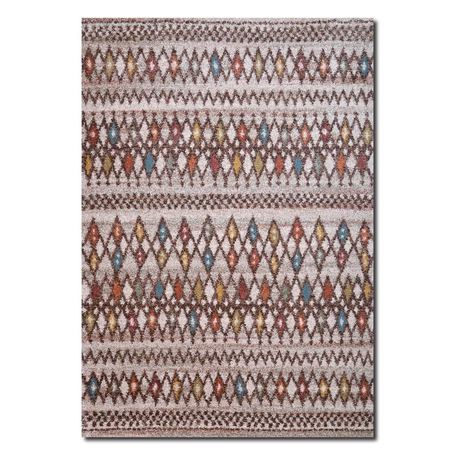 Rugs - Granada Multi Triangles Area Rug (8' x 10')