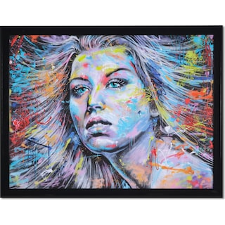 Color Highlights Framed Print