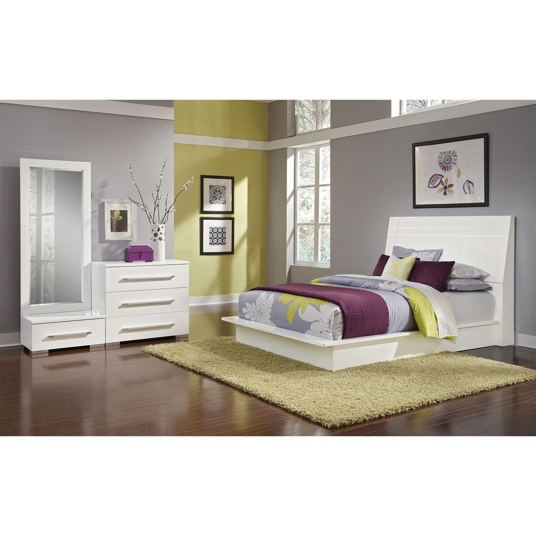 [Dimora White II 5 Pc. King Bedroom (Alternate)]
