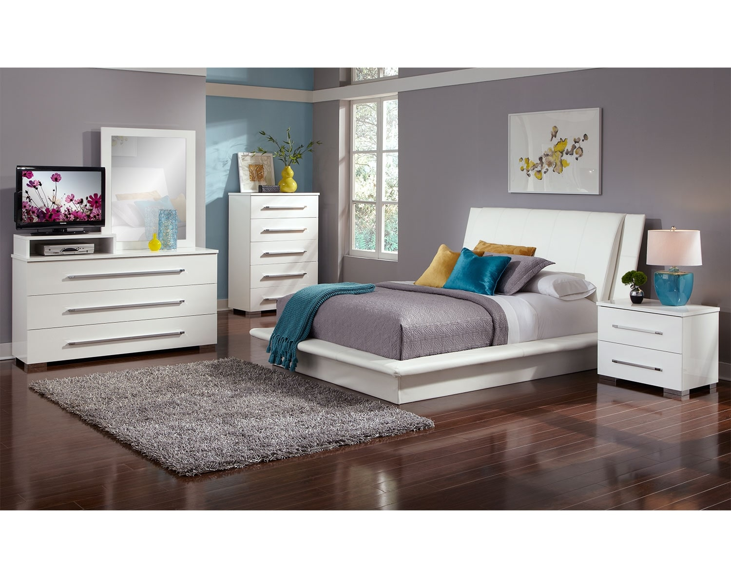 The Dimora Upholstered Collection - White