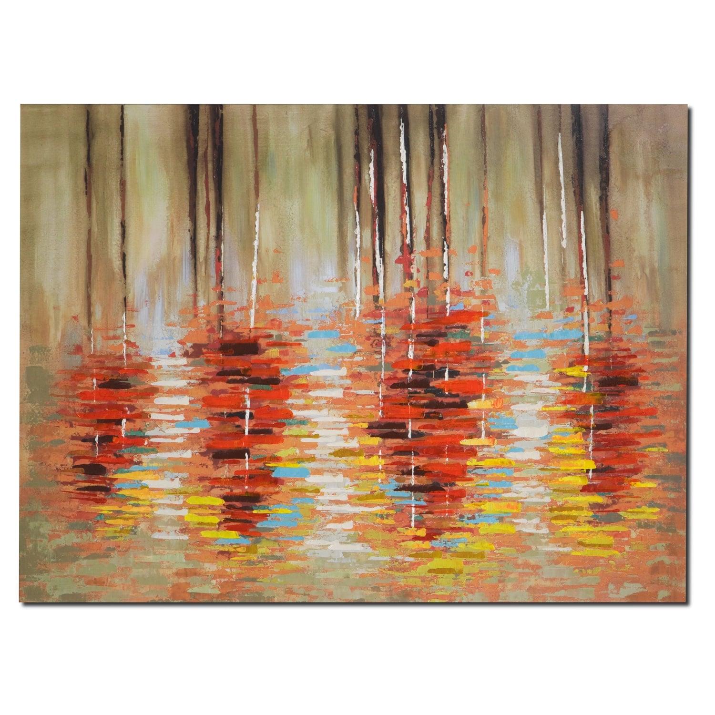 Home Accessories - Autumn Birches Canvas Print