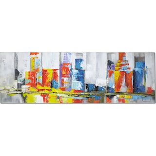 Cityscape Canvas Print