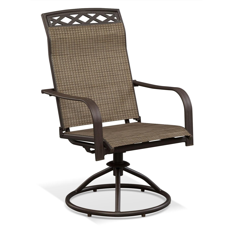 Outdoor Furniture - Terrace Swivel Rocker