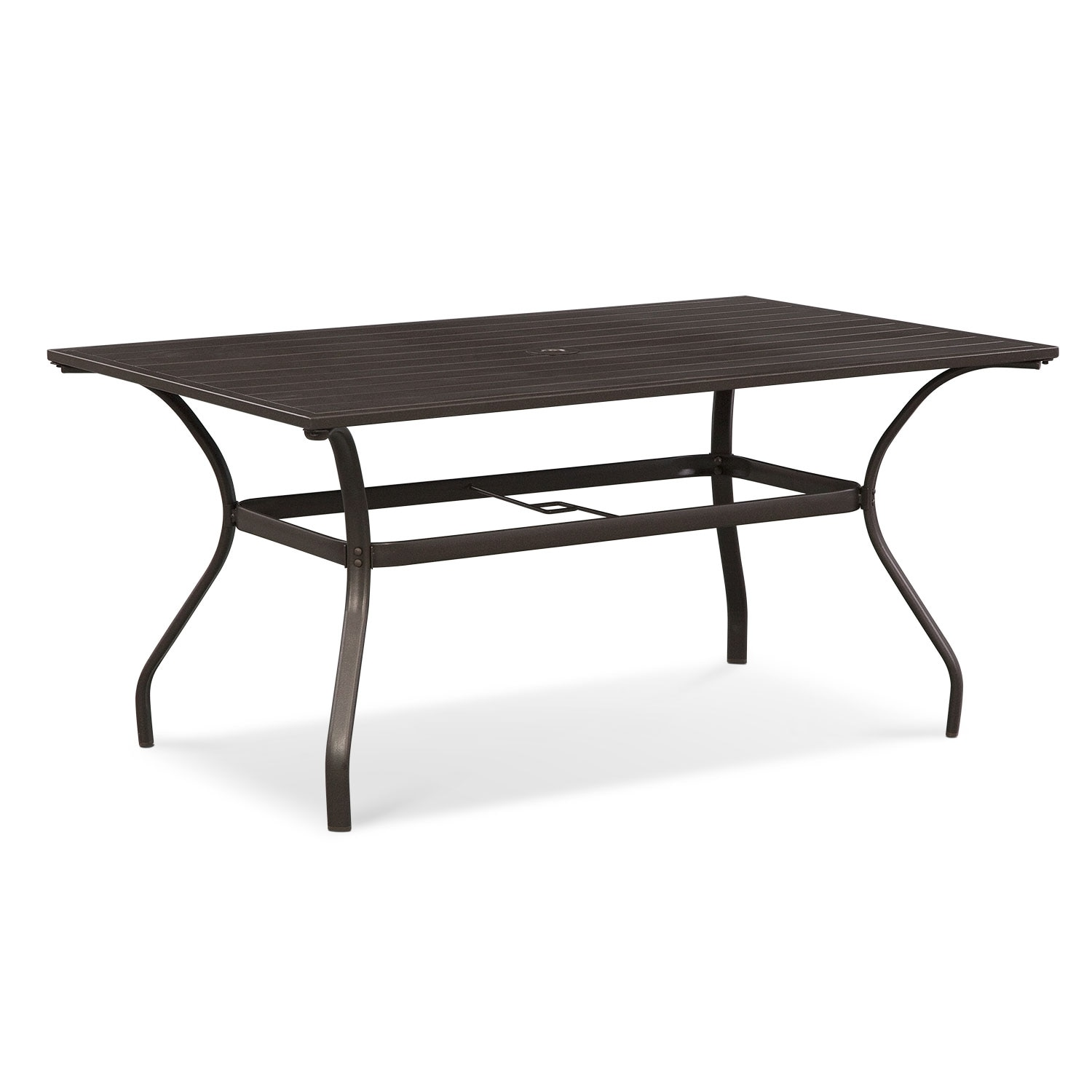 Terrace Dining Table - Brown