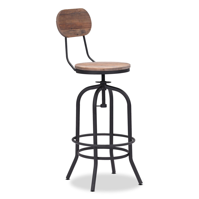 Dining Room Furniture - Elston Adjustable Barstool
