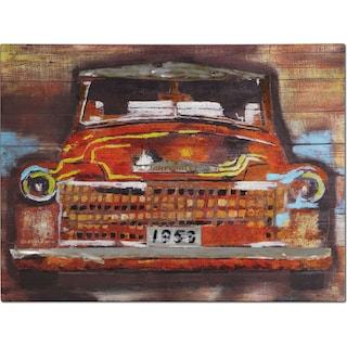Youth Car Canvas Print