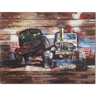 Youth Trucks Canvas Print