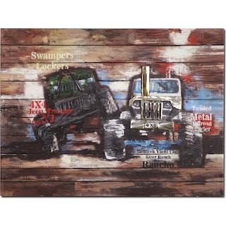Youth Trucks Canvas Print