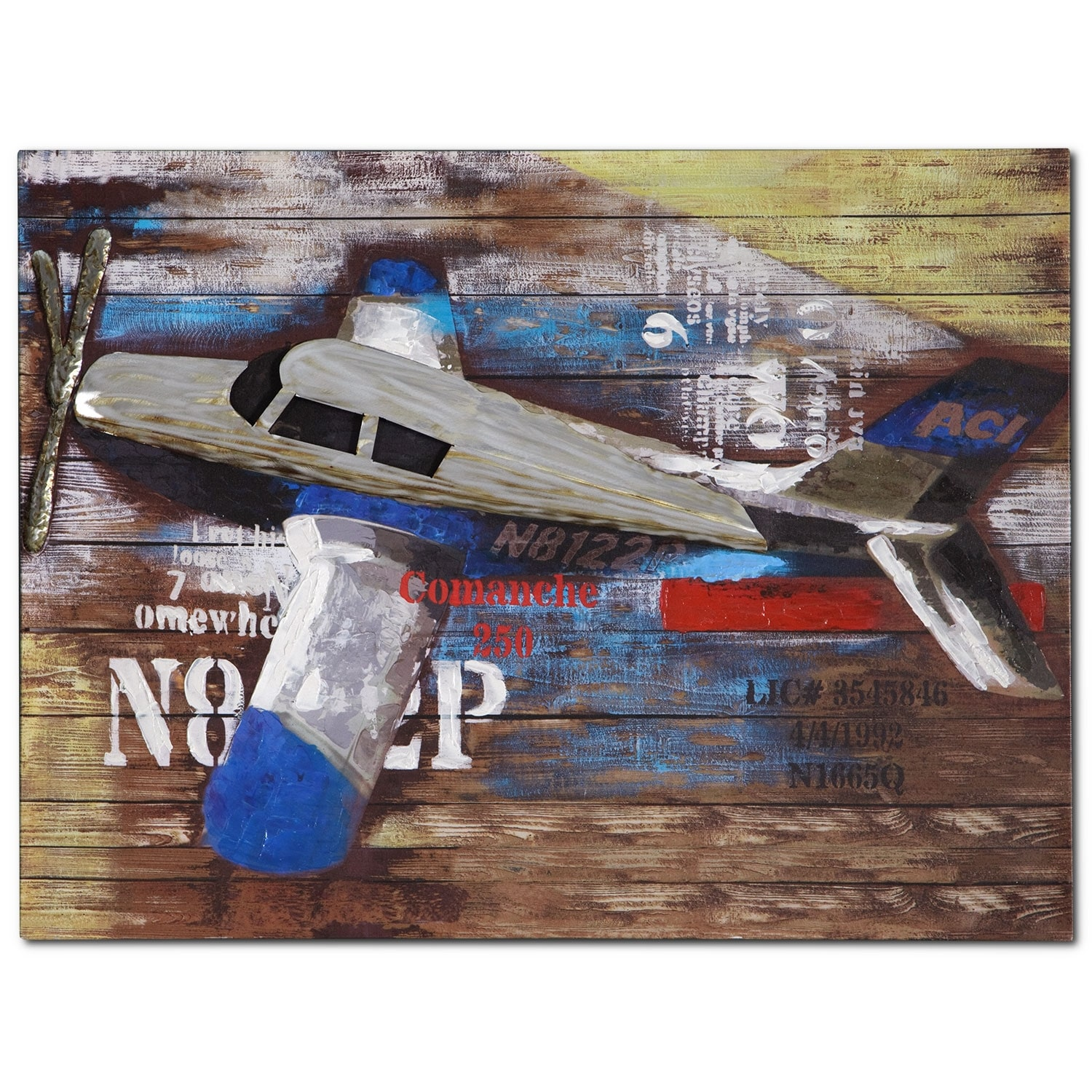 Home Accessories - Youth Plane Canvas Print