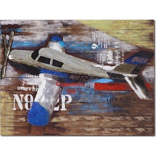 Youth Plane Canvas Print