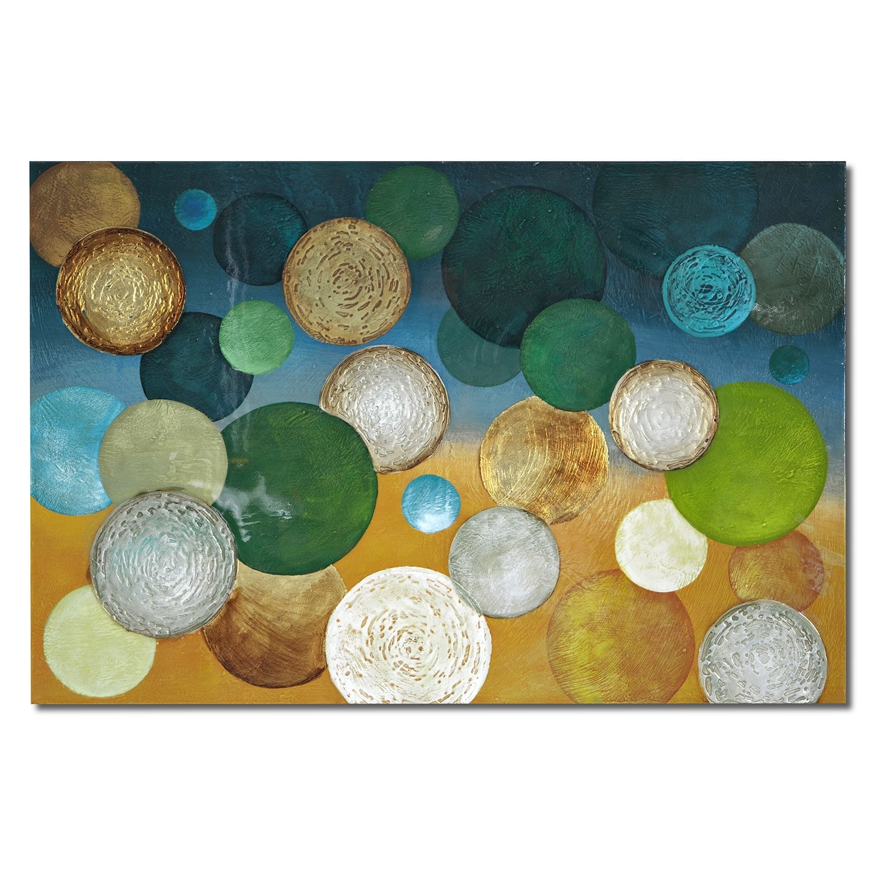 Home Accessories - Color Snow Canvas Print