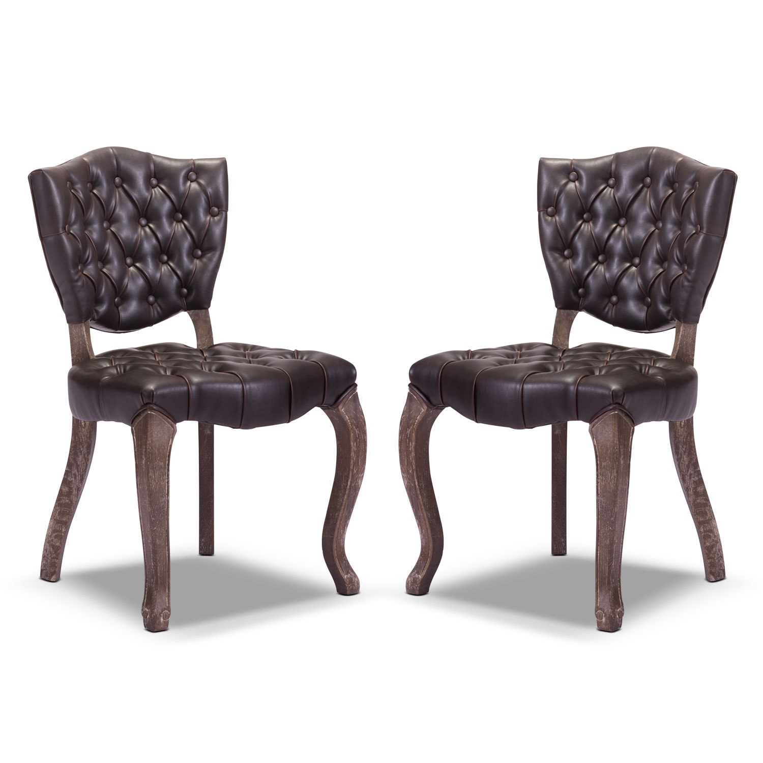 Accent and Occasional Furniture - Shield 2-Pack Chairs