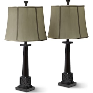 Chase 2-Pack Table Lamp Set