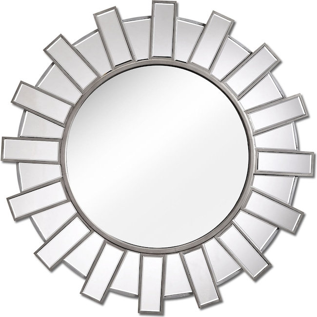Home Accessories - Bunton Mirror - Metallic