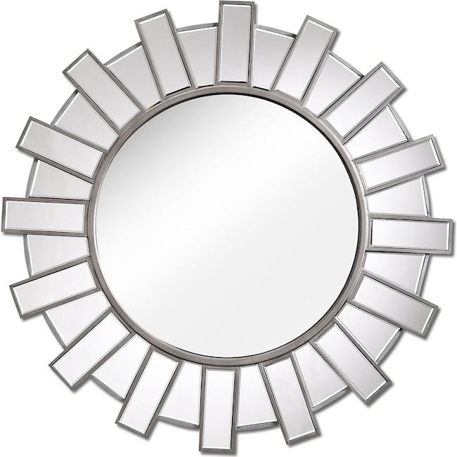 Home Accessories - Bunton Mirror - Metallic