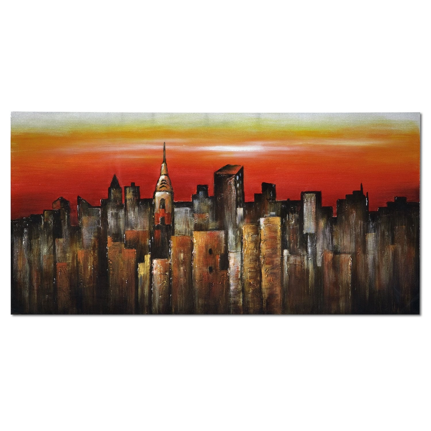 Home Accessories - Orange City Canvas Print
